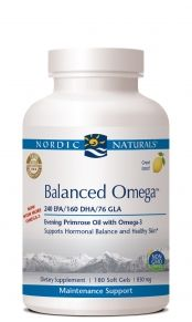 Balanced Omega - 180 soft gels