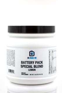 Battery Pack Special Blend Lemon